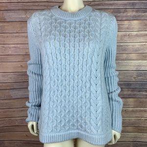 Vineyard Vines Fisherman Cable Knit Wool Sweater